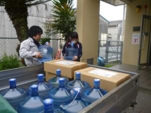 宇土市にあります緑川保育園へ、支援物資をお届けしました2