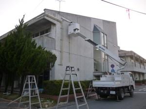 宇土市庁舎仮設工事1