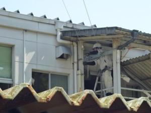 宇土市庁舎仮設工事3